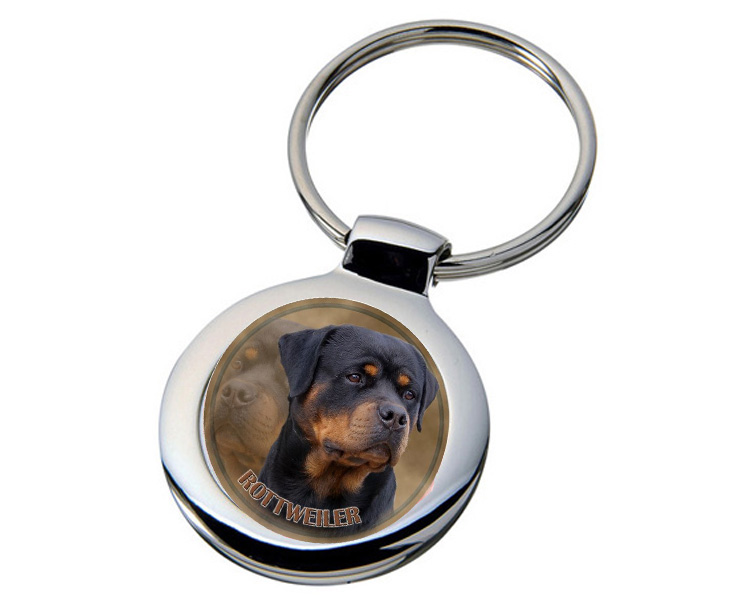 Dog Breed Keychains  Rottweiler Key Chain 3941e42d4