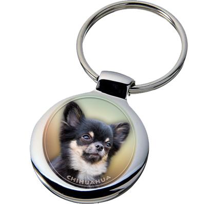 Dog Breed Keychains Chihuahua Key Chain